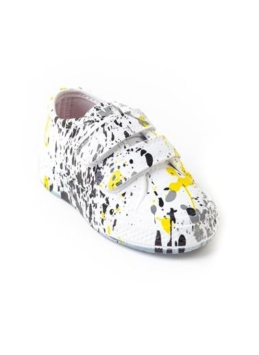 minipicco Minipicco Unısex Boyalı Ortopedik Destekli Spor Ayakkabı Renkli